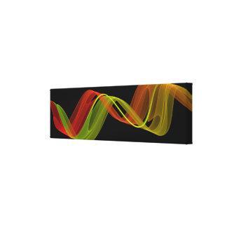 Impressão Em Canvas Linho - fractal 34
