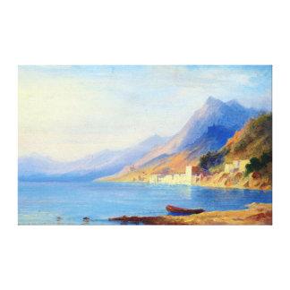 Impressão Em Canvas Litoral do sul de Carl Morgenstern