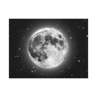 Impressão Em Canvas Lua cheia
