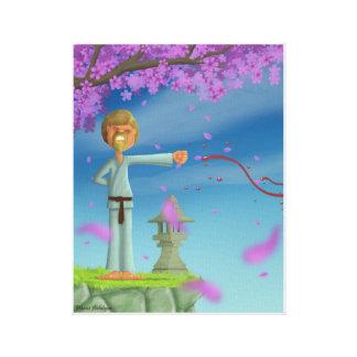 Impressão Em Canvas lutador do fu do kong