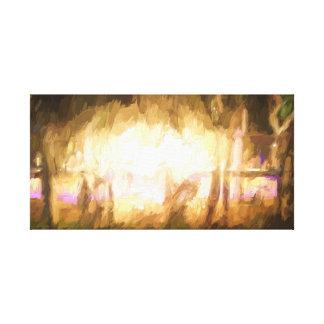 Impressão Em Canvas Luzes do festival e fogo 4