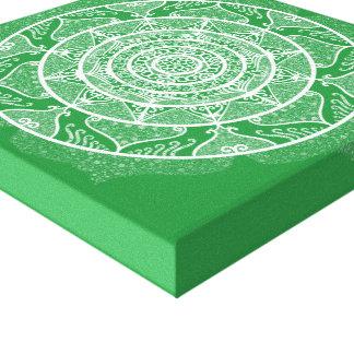 Impressão Em Canvas Mandala da alga