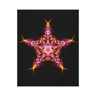 Impressão Em Canvas Mandala da energia de Bringer do alvorecer da