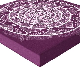 Impressão Em Canvas Mandala de Blackberry