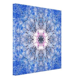 Impressão Em Canvas Mandala do inverno
