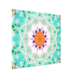 Impressão Em Canvas Mandala Estrela-Dada forma