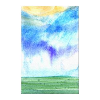 Impressão Em Canvas Manhã 2 de Palouse