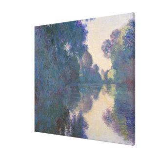 Impressão Em Canvas Manhã no Seine perto de Giverny