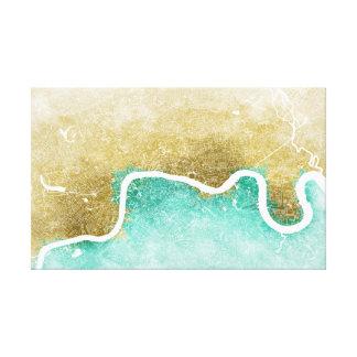 Impressão Em Canvas Mapa #1 de Londres