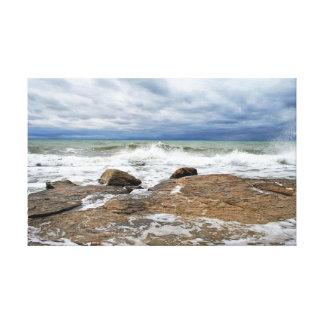 Impressão Em Canvas Mar Cáspio