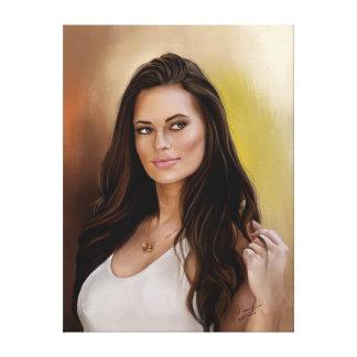 Impressão Em Canvas Meia de Hannah