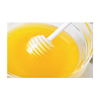 Impressão Em Canvas mel fresco