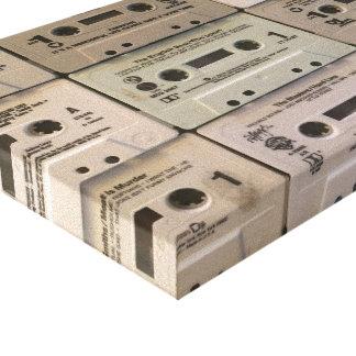 Impressão Em Canvas Minhas cassetes de banda magnética velhas