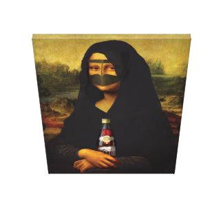 Impressão Em Canvas Mona árabe Lisa