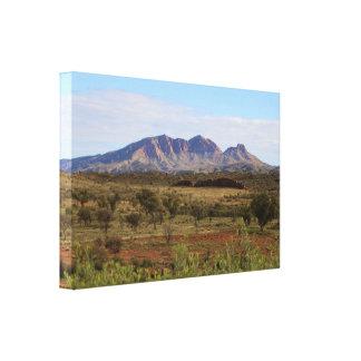 Impressão Em Canvas Montagem Sonder, interior australiano central