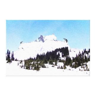 Impressão Em Canvas Montanha das cabras