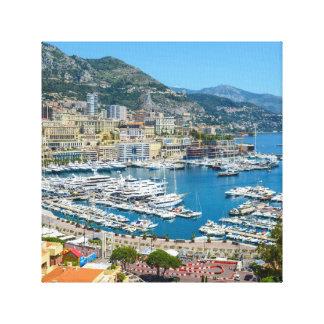Impressão Em Canvas Monte - Carlo Monaco