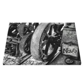 Impressão Em Canvas Motor de gás antigo de Novo