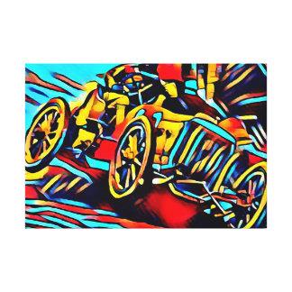 Impressão Em Canvas Motor Racing Em The 1920s