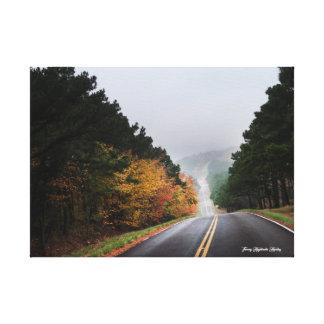 Impressão Em Canvas Movimentação da montanha