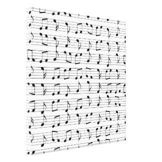 Impressão Em Canvas Música