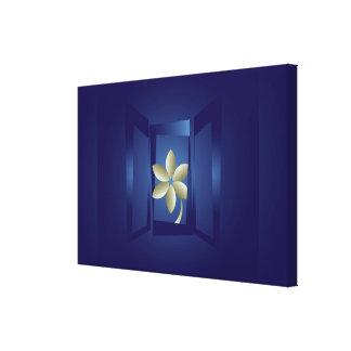Impressão Em Canvas na janela