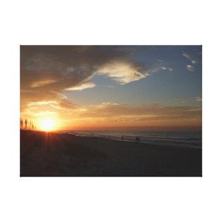 Impressão Em Canvas Nascer do sol de Oceano Atlântico
