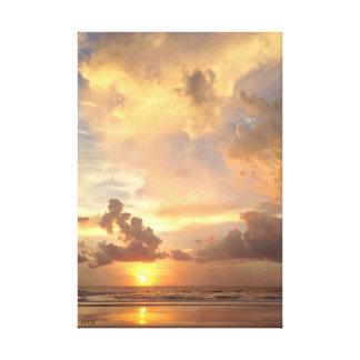 Impressão Em Canvas Nascer do sol mágico