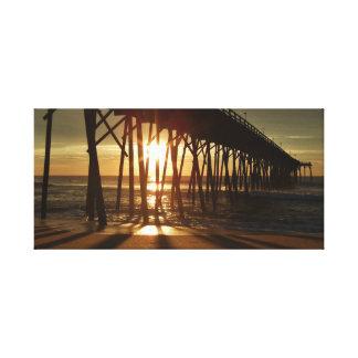 Impressão Em Canvas Nascer do sol na costa atlântica