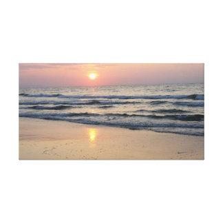 Impressão Em Canvas Nascer do sol no mar