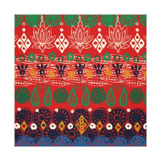 Impressão Em Canvas Natal do bloco dos lótus