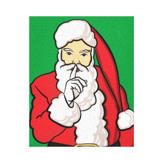Impressão Em Canvas Natal Papai Noel
