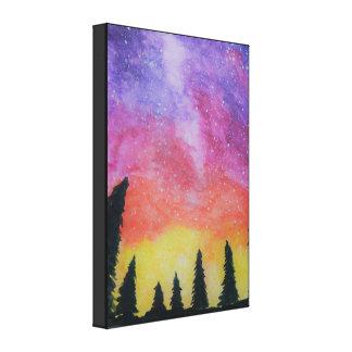 Impressão Em Canvas Nebulosa do nighttime