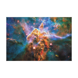 Impressão Em Canvas Nebulosa místico de Carina da montanha