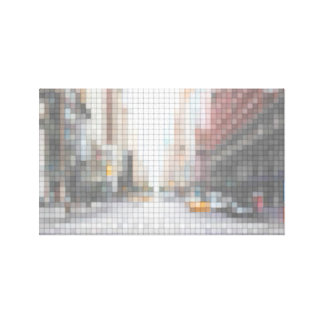 Impressão Em Canvas New York