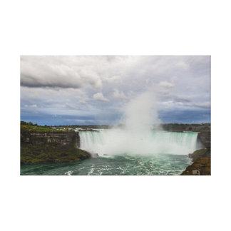 Impressão Em Canvas Niagara Falls, Canadá, quedas da ferradura e