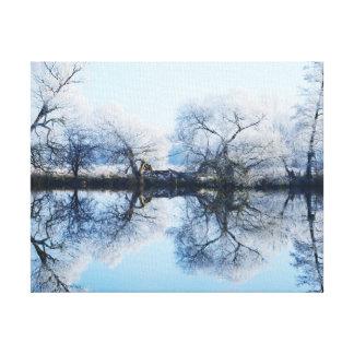 Impressão Em Canvas Nível da água a das Havel