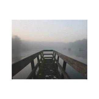 Impressão Em Canvas No lago