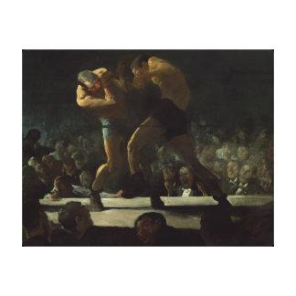 Impressão Em Canvas Noite do clube de George Bellows a arte do