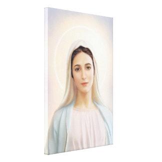 """Impressão Em Canvas Nossa senhora de Medjugorje, 24"""" x 36"""", canvas,"""