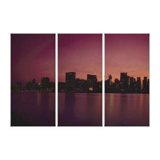 Impressão Em Canvas Nova Iorque
