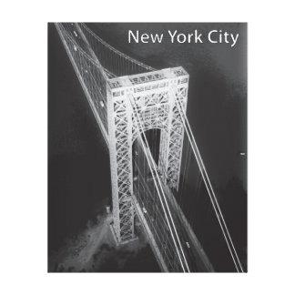 Impressão Em Canvas Nova Iorque da ponte de George Washington