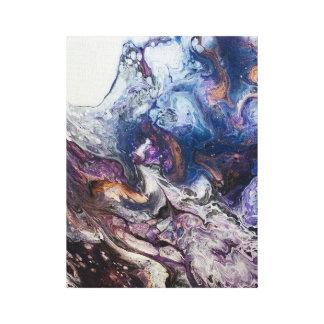 Impressão Em Canvas O canvaprint acrílico da pintura do abstrato do