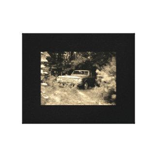 Impressão Em Canvas O carro o mais assombrado do mundo - o Goldeneagle