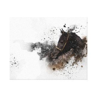Impressão Em Canvas O cavalo