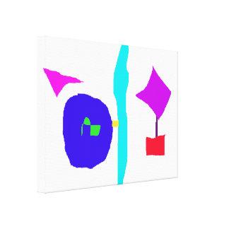 Impressão Em Canvas O espaço das crianças