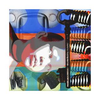 Impressão Em Canvas O inclinação da boneca do projeto do GMT 24 Heures
