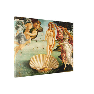 Impressão Em Canvas O nascimento de Venus | Botticelli