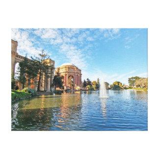 Impressão Em Canvas O palácio das belas artes Califórnia