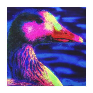 Impressão Em Canvas O pato que você vê